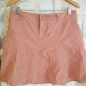 Athleta Whenever A-Line flare Skirt in pink SZ 10